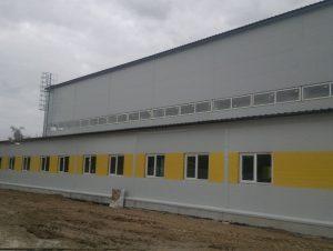 Строительство зданий горного цеха АО «Себряковцемент»