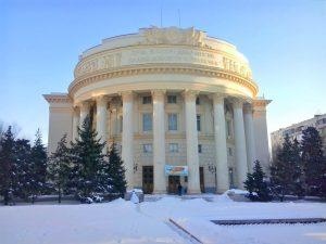 Ремонт фасада Дома Профсоюзов