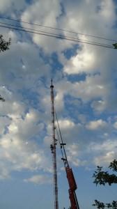 Станция телерадиовещания крутое