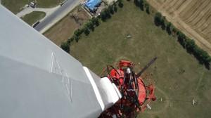Монтаж антенны и оборудования для станции телерадивещания